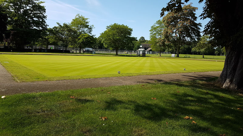 Bowls at Victoria Park, Leamington Spa
