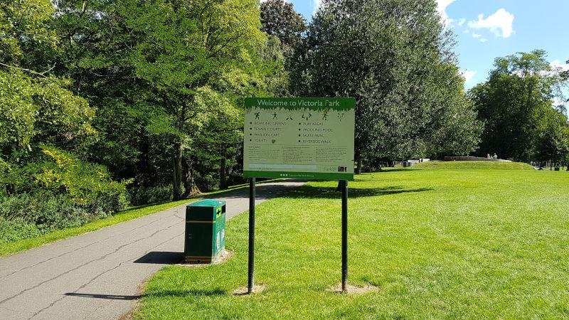 Victoria Park, Leamington Spa, Leamington Spa, UK