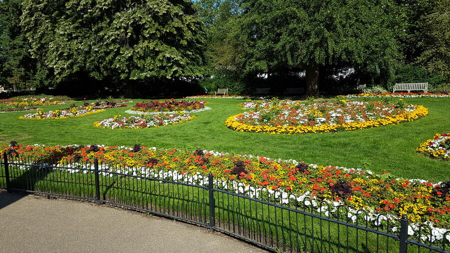 Jephson Gardens Leamington Spa